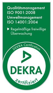 DEKRA Zertifikate