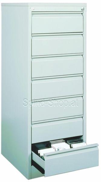 cd schubladenschrank stahlschrank mit 7 schubladen dreibahnig schubladenschr nke f r cd 39 s. Black Bedroom Furniture Sets. Home Design Ideas